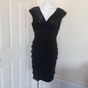 Adriana Papell black dress